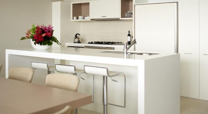 Modern kitchen at