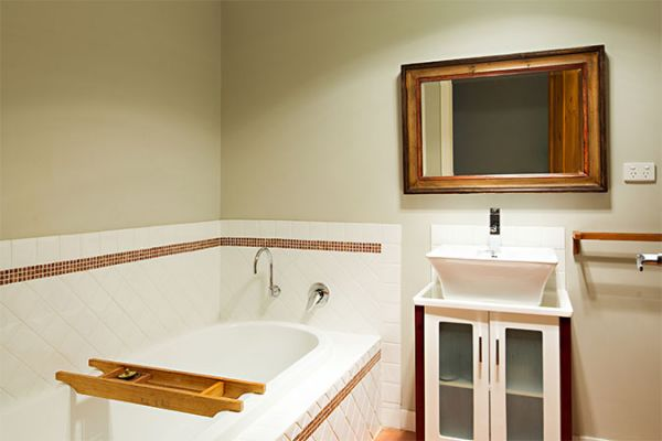clean comfortable bathrooms at